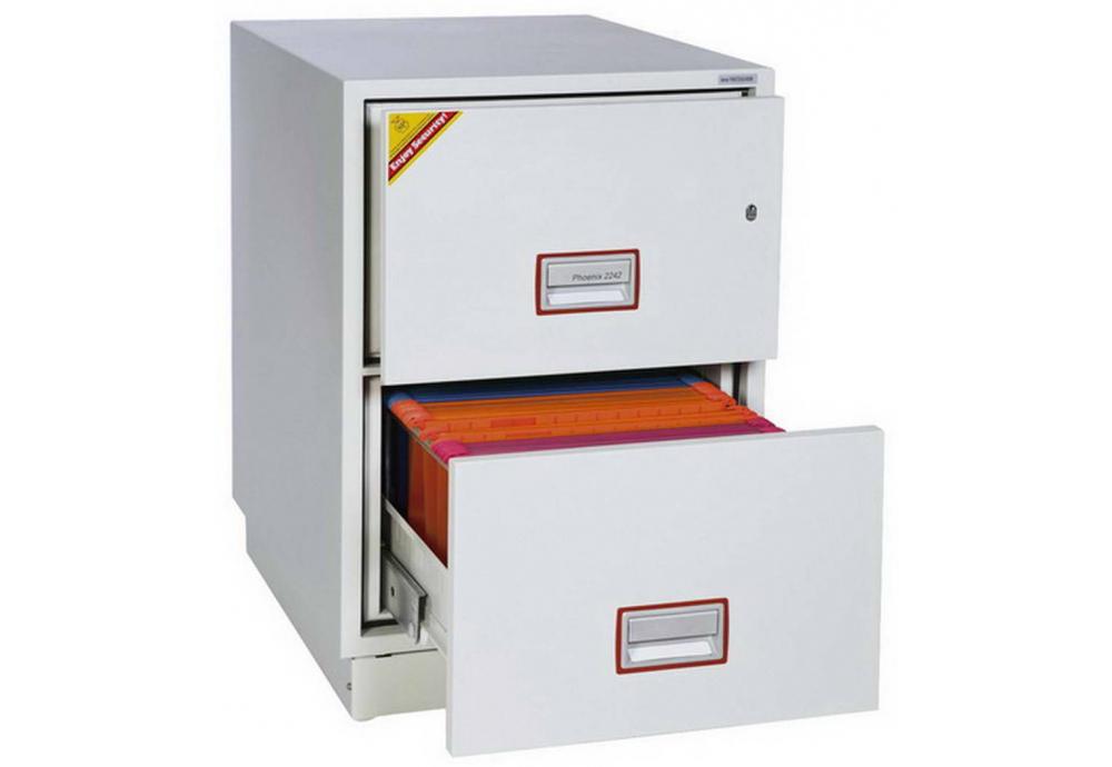 Phoenix Vertical Fire File FS2252K Filing cabinet | SafesStore.co.uk