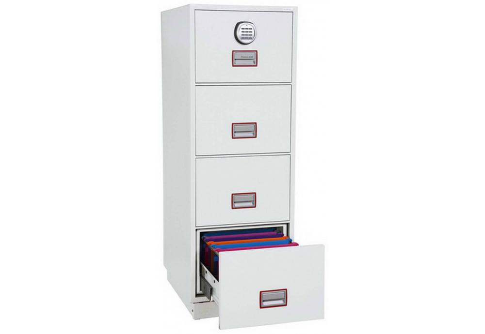 Phoenix Vertical Fire File FS2254E Filing cabinet   SafesStore.co.uk