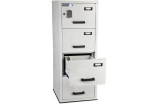 Burton Fire Filing Cabinet FF 4 drawer E