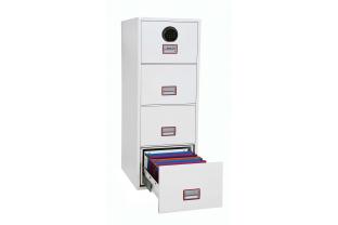 Phoenix Vertical Fire File FS2254F Filing cabinet | SafesStore.co.uk