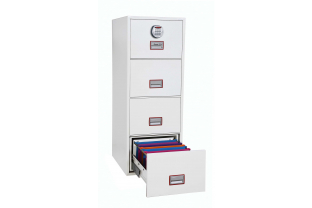 Phoenix Vertical Fire File FS2264E Filing cabinet | SafesStore.co.uk