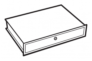 Chubbsafes lockable drawer, size 350  - Free Delivery | SafesStore.co.uk