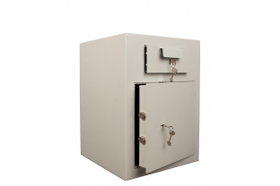 Chute Deposit Safe offering œ 2,000 cash rating. Ideal for daily cash deposits or valuables. Fitted with a high secure double bitted key lock ✓ Next Day Delivery