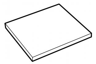 Shelf for Securikey Euro Grade 0 015CF