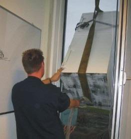 Kraan installatie kluis